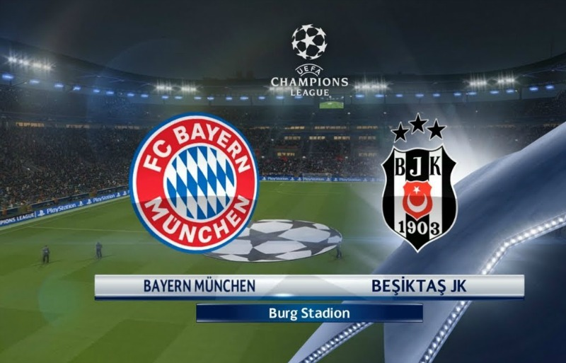 Bayern Munich vs Besiktas