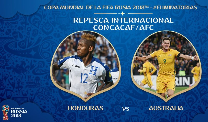 World Cup 2018 trận Honduras vs Úc
